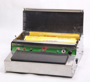 Hot sell cling film packing machine for supermarket/fruit store