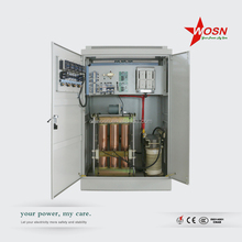 High precision SBW three phase 500kva AC power automatic voltage regulator/stabilizer with servo motor