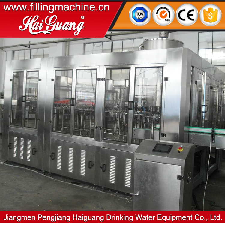 Hot sale factory direct price carbonated soft drink pet bottle filling line/whisky bottle filling machine