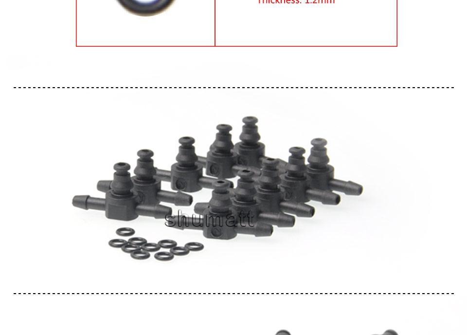 Bosch 110 diesel common rail injectors oil backflow pipe t-style  plastic tee joint fitting 10pcs (4).jpg