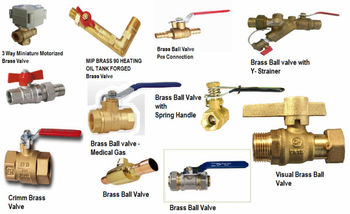 Brass ball valves type 3 way miniature motorized pex for Types of pex