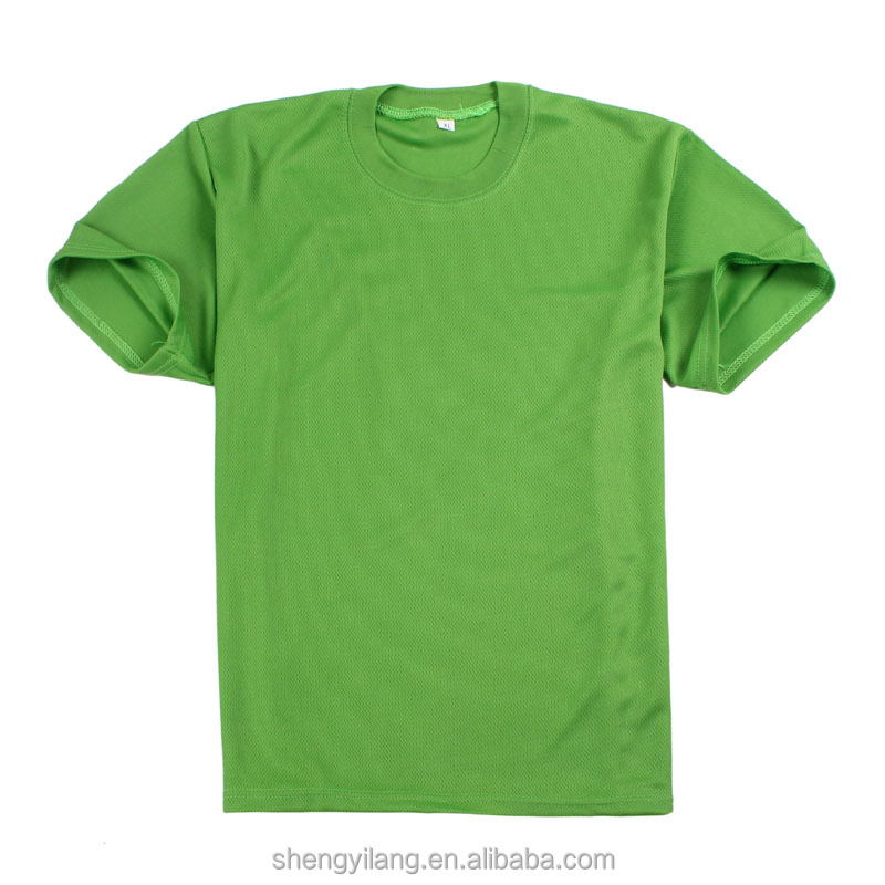 oem service mesh coolmax outdoor basic blank running sportswear dri fit plain t-shirts supplier
