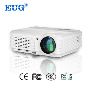 Digital Projector Type and 3600 lumens Brightness Smartphone Projector led tv multimedia projector