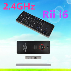 dragonworth 2 in 1 2.4G IR Rii Mini I6 Universal Remote Wireless 72 keys Keyboard 27 LEDs Backlight Touchpad