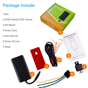 CONCOX &JIMI 3G WCDMA GV20 GPS taxi tracker Leasing gps tracking system for car rental business