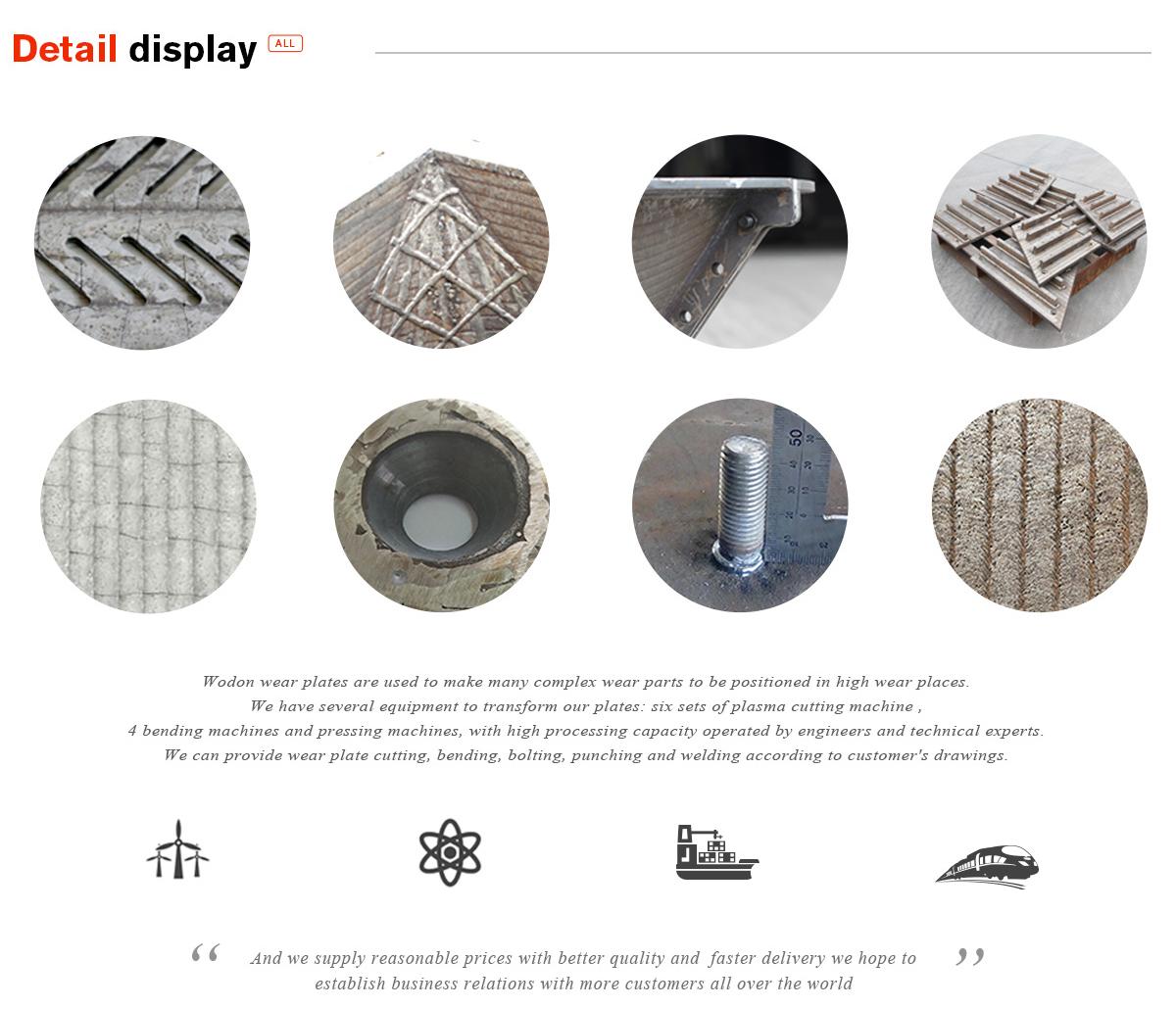 Tianjin Wodon Wear Resistant Material Co., Ltd. - Wear Resistant ...