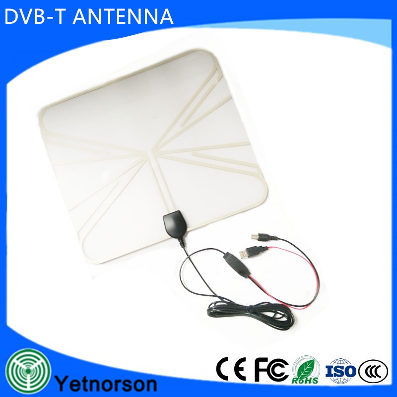 25dbi High definetion high power flat hd tv UHF VHF antenna