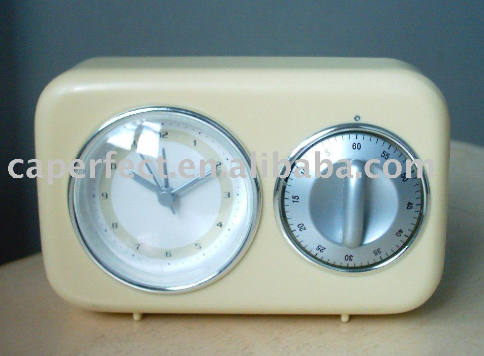 Quartz clock and timer