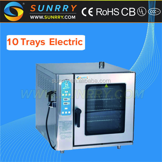 Commercial 10 Trays Rational Electric Combi Steam Oven with CE Prices (SY-CV10B )