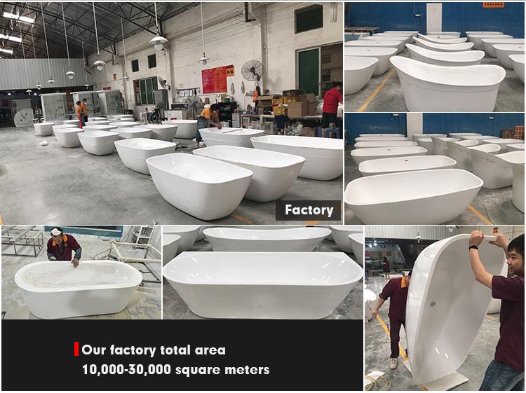 Vrijstaande baden acryl klauw voet bad met leeuw voeten voor huis en hotel gebruik