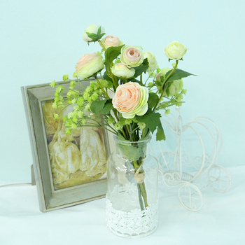 Real Touch Artificial Flower Arrangements Hong Kong Baby Breaths Whole Hanging Pot Vase And Plant Bouquet
