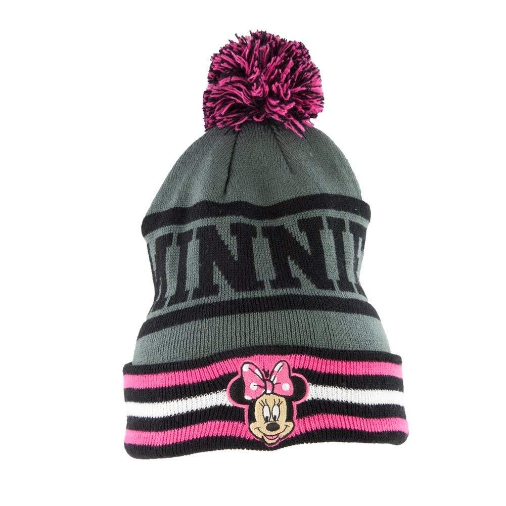Minnie Mouse Embriodary Knitted Winter Beanie Pom Pom Hat d2e0e8afc27