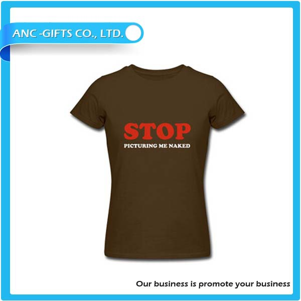 Printed cotton t shirts for promotional gift cheap t-shirt in China factory