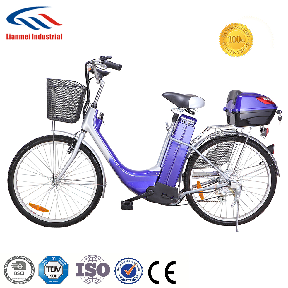 Cheap price city bike with leadacid battery