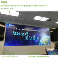 CCP Factory Cost Effective 3.5mm Super Narrow Seamless Bezel Tiled 55 Inch 4k Video Wall With Original Samsung/lg Did Panels