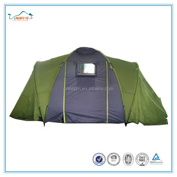 Double Layers big Family tent with 2 sleeping rooms  sc 1 st  Alibaba & Double Layers Big Family Tent With 2 Sleeping Rooms - Buy Family ...