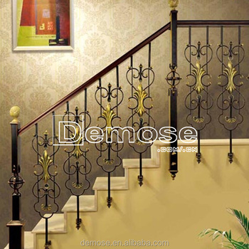 Wonderful Interior Stair Iron Handrails Antique/ornamental Iron Railing Prices