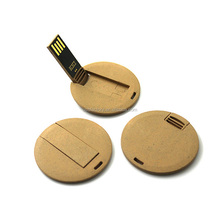 Coolest unique Card new USB memory stick, Round Card Shape Pen Drive, Coin USB business card reverse pen memory key 4gb 8gb 16gb