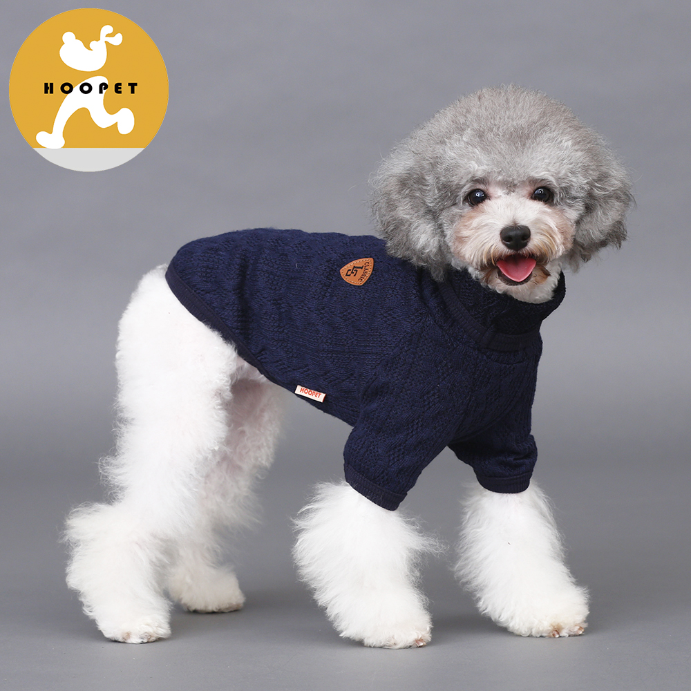 Hot Wholesale Custom Dog Crochet Sweater Knitted Affordable Pet Dog Clothes Wholesale