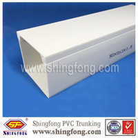 Factory price cable duct, square PVC Cable Trunking