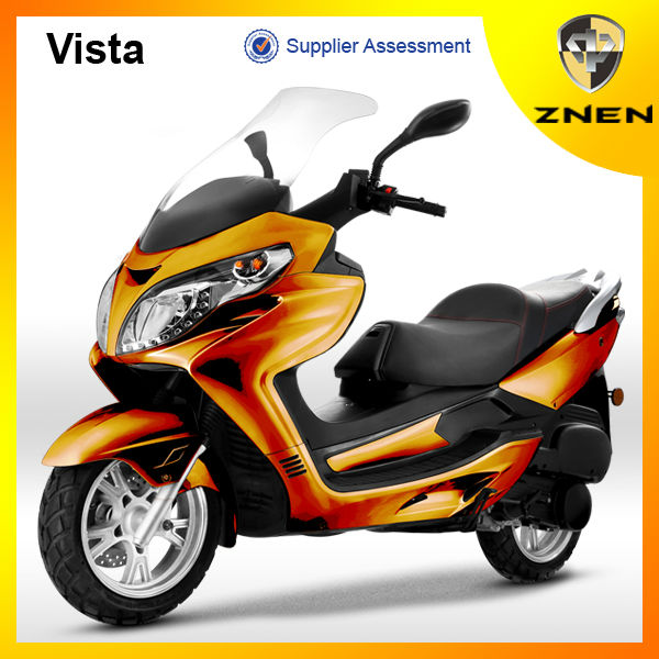 Vista--ZNEN Popular gas scooter 150CC scooter WITH MP3