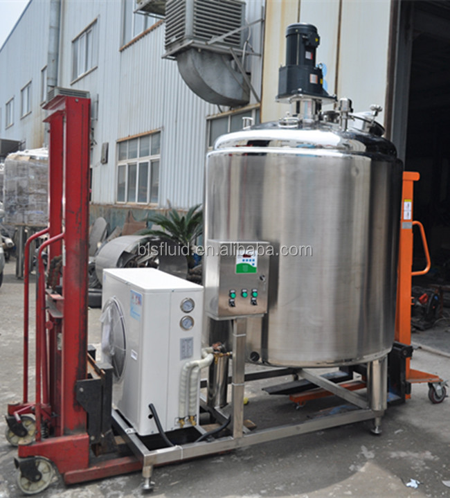 factory price stainless steel milk cooling tank for dairy farm