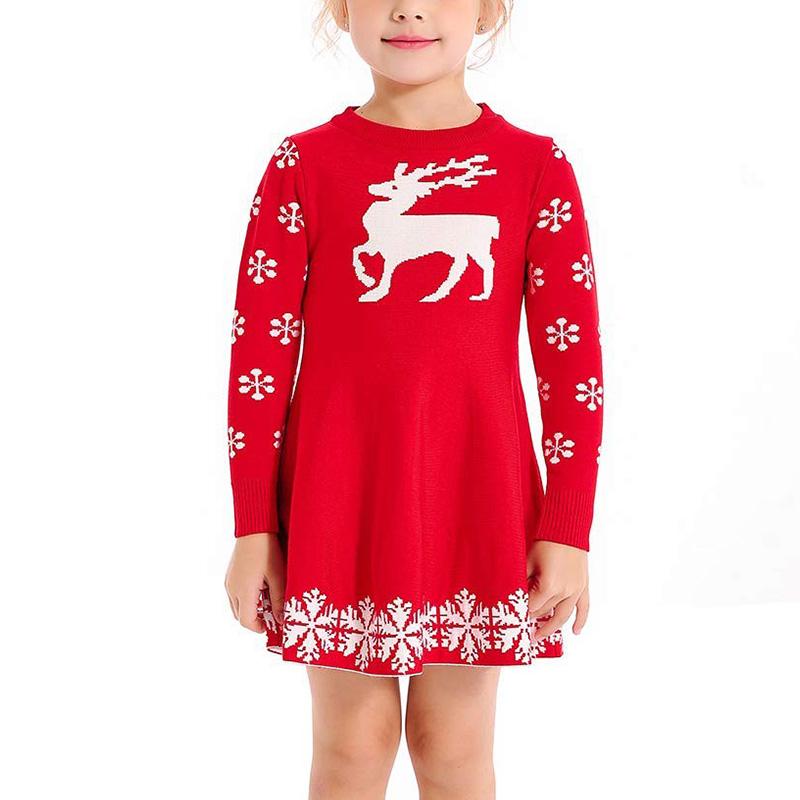 Lelijke kerst jurk