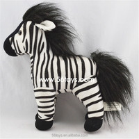 lifelike moving animated custom plush horse with one package service