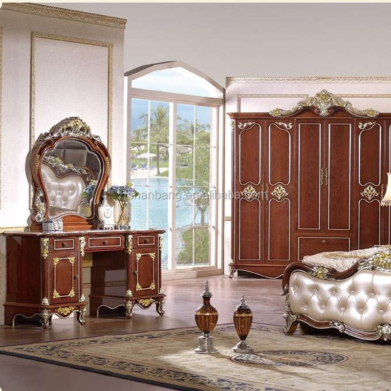 Inexpensive Antique Furniture: Cheap Wholesale White Brown Classic French European Style