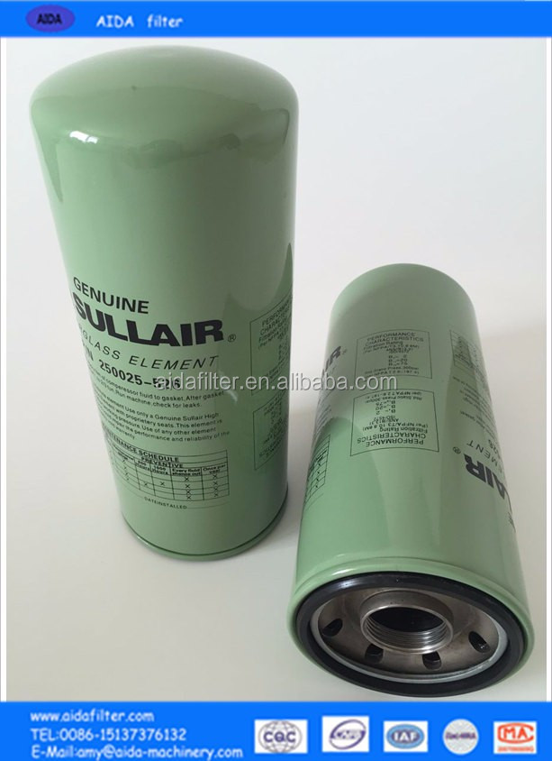 Supply Sullair used cooking oil filter machine 02250135-149 with high quality