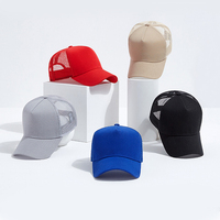 Classic Mesh Adjustable Blank Yupoong Trucker Cap Hat