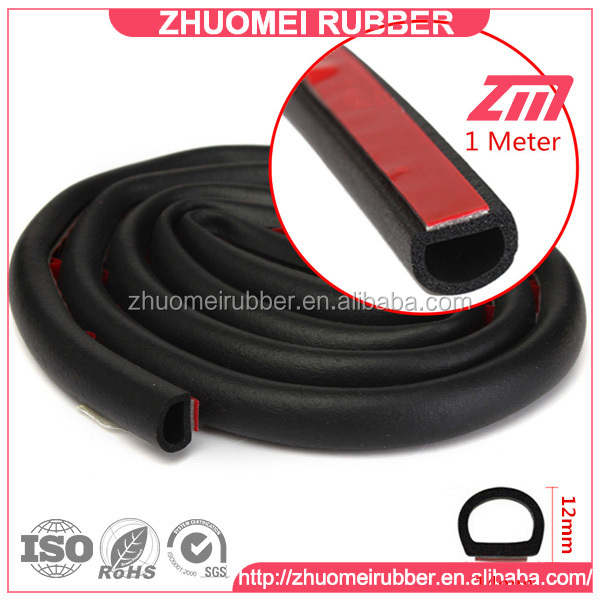 Different D Shapes Foam Rubber Marine Hatch Seal Buy