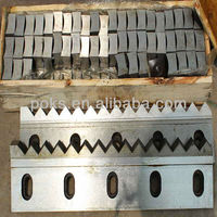 plastic crusher machine blades/knives/knife