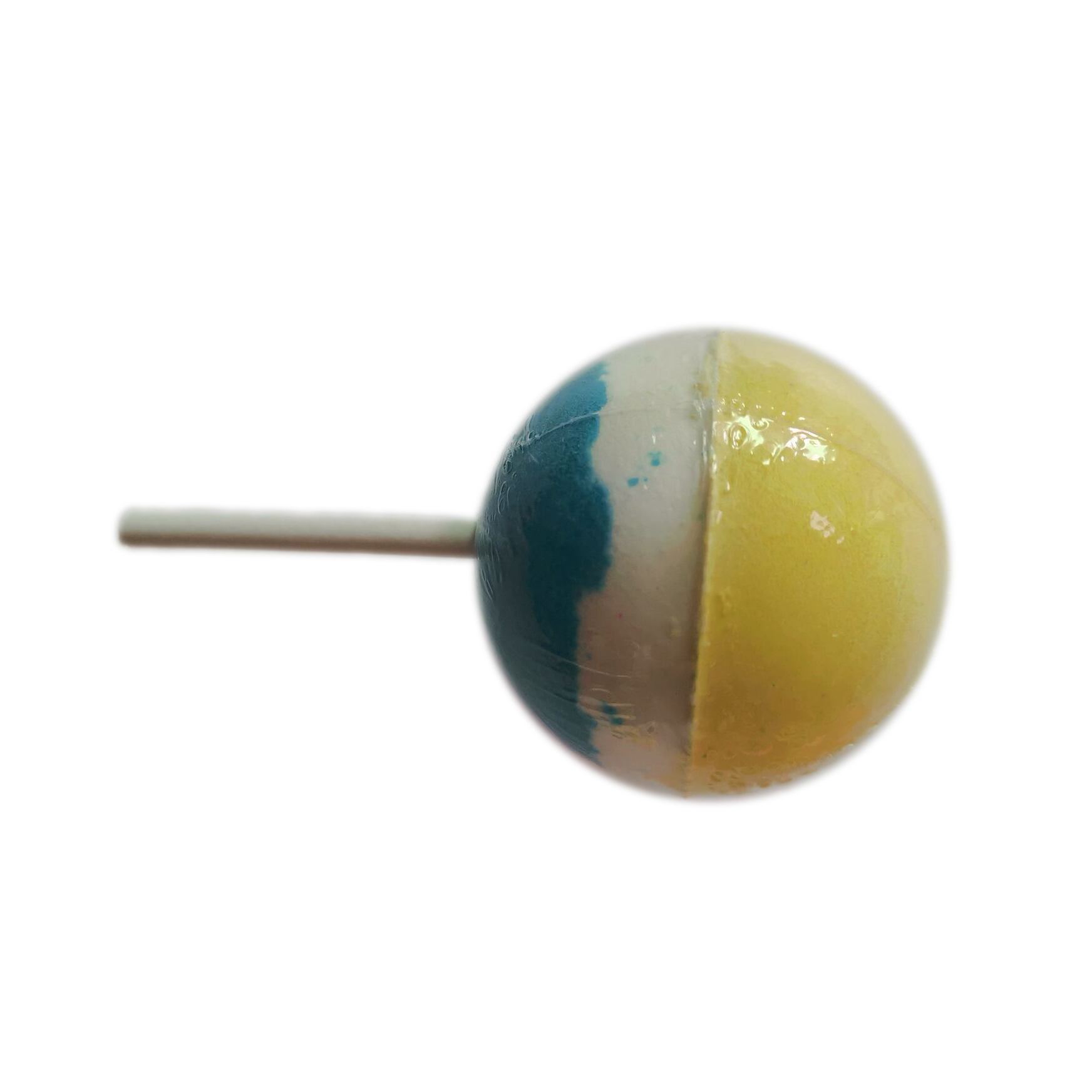 Großhandel bunte stick candy bad fizzer lollipop form bad bomben