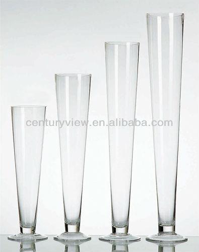 24 Wedding Decoration Centerpiece Glass Trumpet Vases Buy Glass