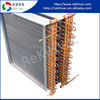 multi-loop cross spread ac motors condenser used in refrigeration unit