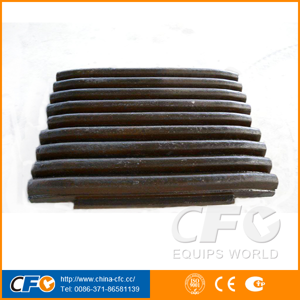 Super Quality Stone Breaker Mn13Cr2 Jaw Crusher Plate Manufacturer