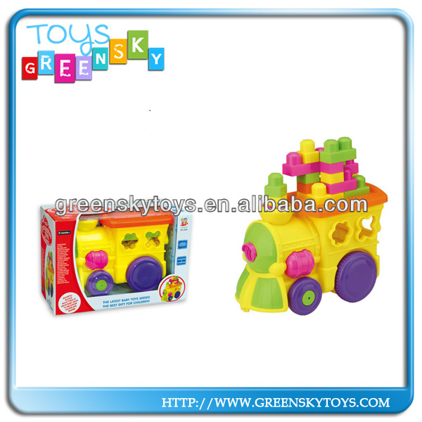 Multifunction Music Block Train, Funny Educational Baby Toys