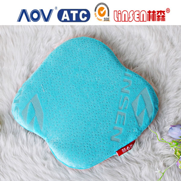 2014 Linsen China wholesale memory foam baby cushion made in China