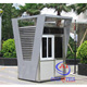 Thermal insulated prefabricated security guard room sentry booth