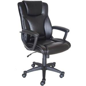 Broyhill Bonded Leather Manager Chair Bonded Leather on all Seating Surfaces for a Classic Appearance and the Comfortable Seating
