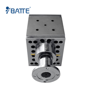 high pressure melt gear pumps for plastics extrusion line