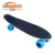Young man wooden mini skateboard