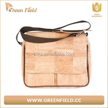 Factory Price Laptop Bag 13 Inch Cork Airbag Computer Bags Fashion Handbags Shoulder Messenger Notebook
