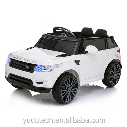 ORANGE RANGE ROVER STYLE SUV 50W MOTOR 12V BATTERY EVA TYRE KIDS RIDE ON CAR