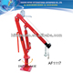 1000LBS Swivelling base Pickup truck crane with cable winch