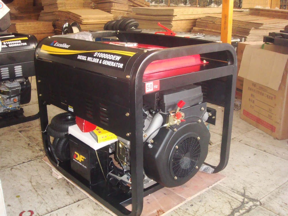 Cheap Price Max Output 10kw Air Cooled Diesel Generator & Welder Diesel Zone Lister Type S10000DE