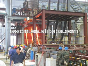 steel-casting foundry 3strands R3-14m square steel billet continuous casting machine