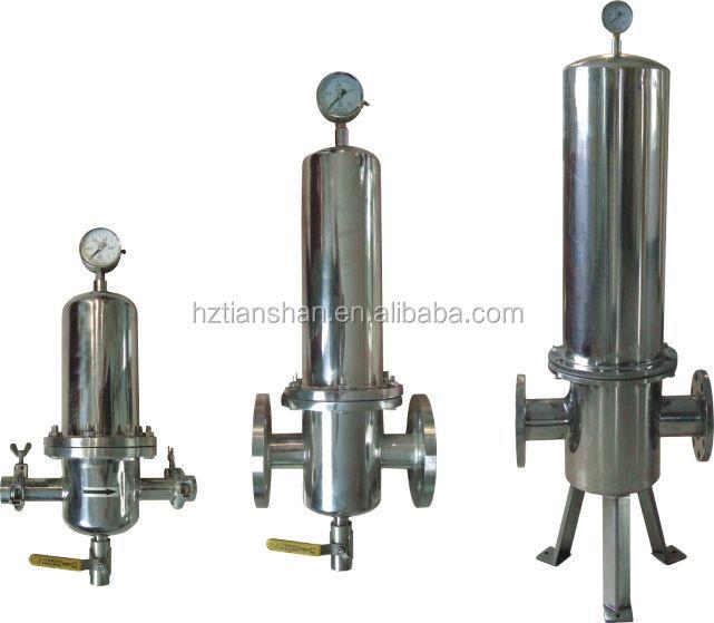 Tianshan Bjq Seri SS316L Kode 7 Cartridge Filter Housing untuk Gas Filtration