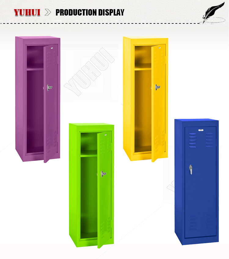 Factory Production Direct Sale Kids Lockers for bedroom storage customized  vertival small locker for Children. Factory Production Direct Sale Kids Lockers For Bedroom Storage